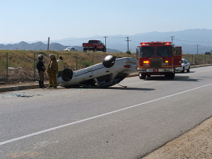 roll over car accident